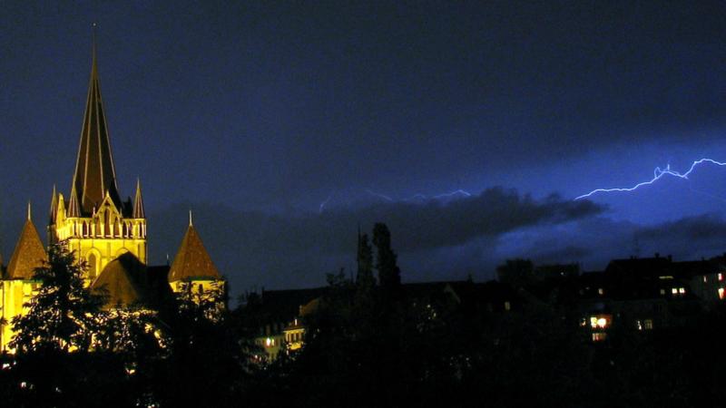 """L'orage gronde depuis quelques années dans le ciel de l'Eglise réformée vaudoise (Photo: Ricardo Hurtubia/Flickr/<a href=""""https://creativecommons.org/licenses/by-nc/2.0/legalcode"""" target=""""_blank"""">CC BY-NC 2.0</a>)"""