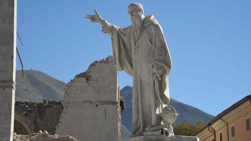 Les monuments religieux de Nursie ont été durement touchés par le séisme (Photo:Pixabay.com)