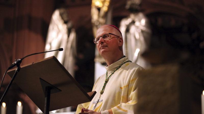 """""""Là où la religion est absente, se crée un vide prêt à être comblé par un nouveau venu"""", selon Mgr Morerod (Photo: Bernard Hallet)"""