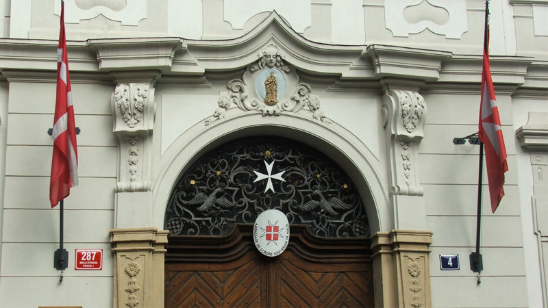 Le palais - siege de l'Ambassade de l'Ordre souverain militaire hospitalier de Malte à Prague (Photo: Wikimedia commons)