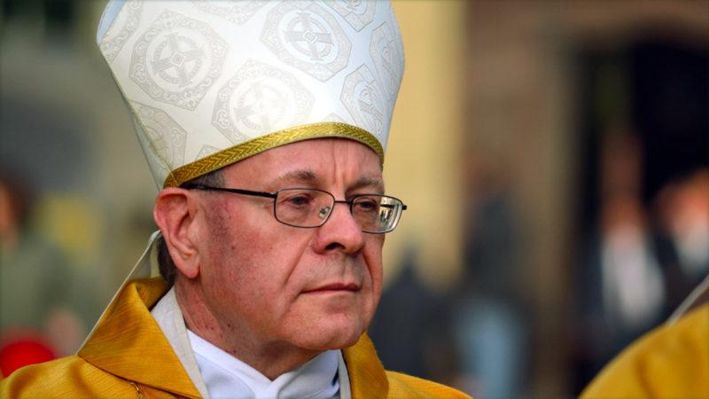 Le pape recevra Mgr Huonder le 17 décembre 2016 (Photo: Georges Scherrer)
