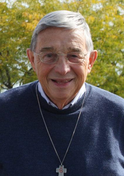 L'abbé Jean-Marie Pasquier, ancien directeur du séminaire diocésain, est membre de la Fraternité Jésus Caritas (Photo: Bernard Litzler)