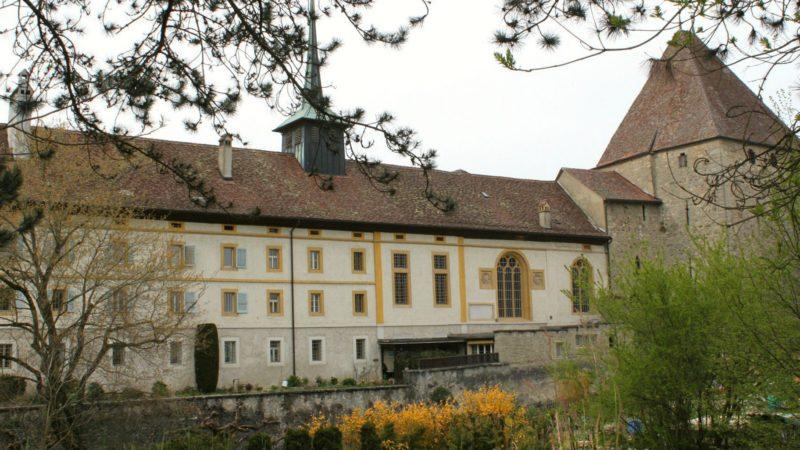 Le monastère des dominicaines d'Estavayer-le-Lac renferme de nombreux trésors dans ses archives (Photo: Bernard Litzler)