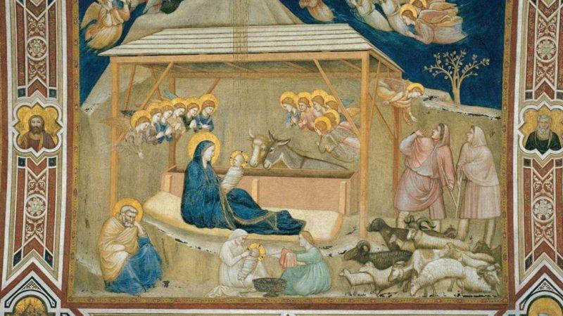 La Nativité de Giotto représente deux enfants Jésus (Photo:Avvenire.it)