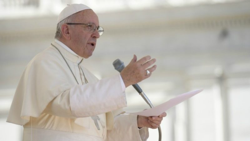"""""""L'Evangile, c'est la bouche du Christ"""", a souligné le pape François. (Photo @Osservatore Romano)"""