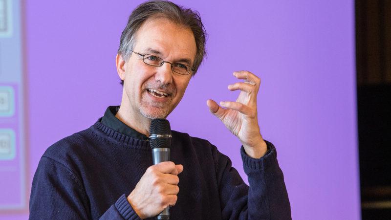 Michel Maxime Egger milite depuis longtemps pour la transition écologique (Photo: Jean-Claude Gadmer)