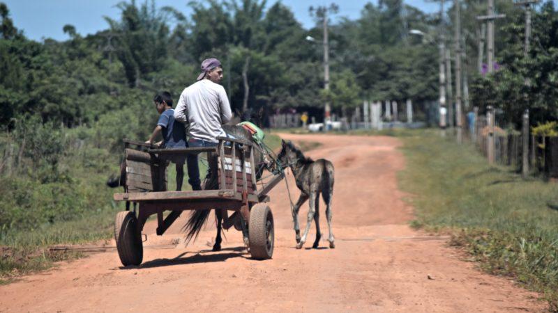 Au Paraguay, la paysannerie familiale traditionnelle est en train de disparaître à grande vitesse (Photo:  Jacques Berset)