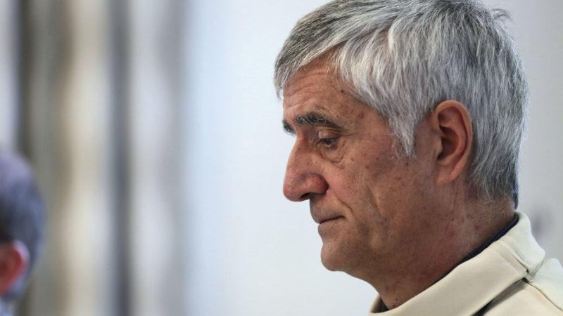 Mgr Jean-Marie Lovey Conférence de presse du Nouvel An à l'évêché de Sion  | © B. Hallet