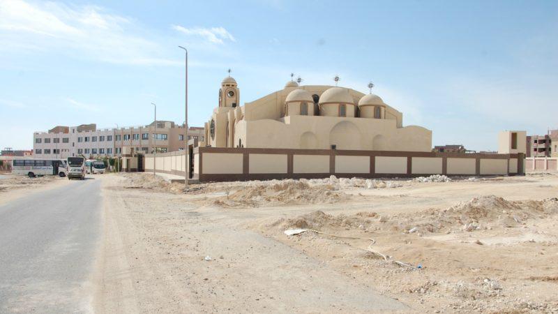 Egypte Nouvelle église dans le diocèse copte-catholique de Minya | © Jacques Berset