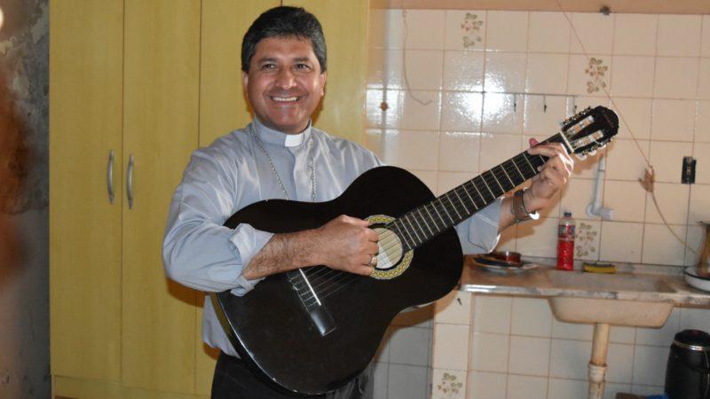 Mgr Miguel Angel Cabello, évêque de  Concepción (Photo:  Jacques Berset)