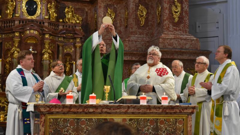 Mgr Thomas E. Gullickson, nonce apostolique pour la Suisse et le Lichtenstein, le 22 janvier 2017 à Lucerne (Photo:  Jacques Berset)