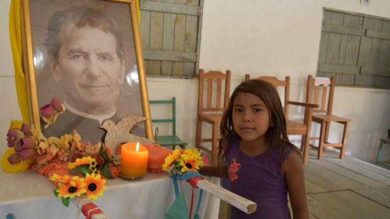 Présence des missionnaires salésiens  de Don Bosco dans les communautés rurales du Paraguay  (Photo:  Jacques Berset)