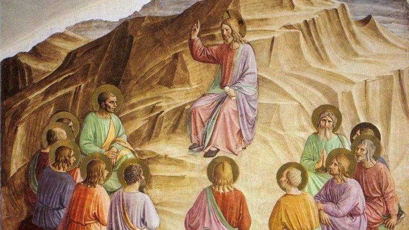 """""""Voyant la foule, Jésus monta sur la montagne"""""""