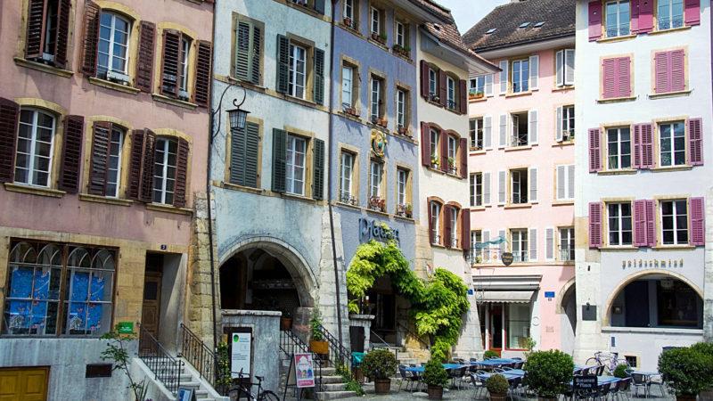 """Bienne s'apprête à vivre au rythme du jubilé de la Réforme (Photo:Gouldy99/Flickr/<a href=""""https://creativecommons.org/licenses/by-nc-nd/2.0/legalcode"""" target=""""_blank"""">CC BY-NC-ND 2.0</a>)"""
