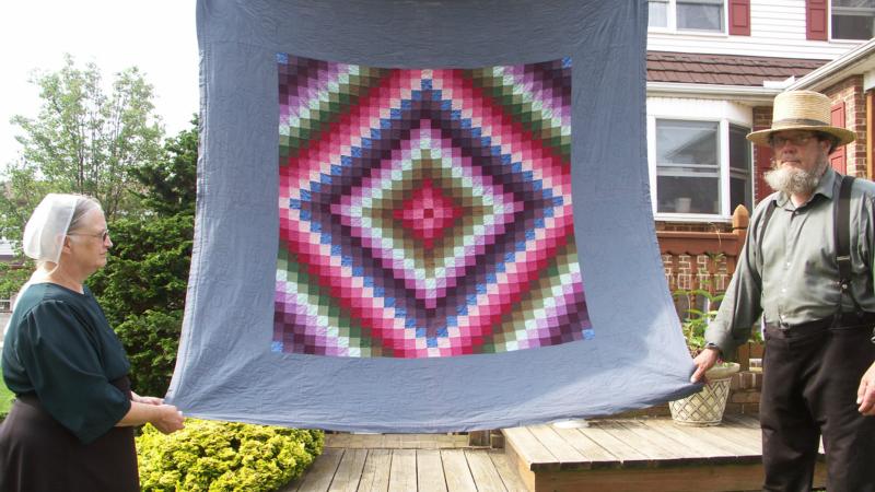 L'art textile du quilt est très présent chez les amish (Photo: Jacques Légeret)