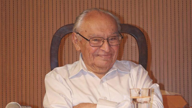 Gustavo Gutierrez, père de la théologie de la libération (photo Jean-Claude Gerez)