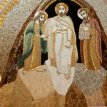 "Transfiguration. Mosaïque de la chapelle du mausolée St jean Paul II, à Washington. (Photo: Flickr/LawrenceOP/<a href=""https://creativecommons.org/licenses/by-nc-nd/2.0/legalcode"" target=""_blank"">CC BY-NC-ND 2.0</a>)."