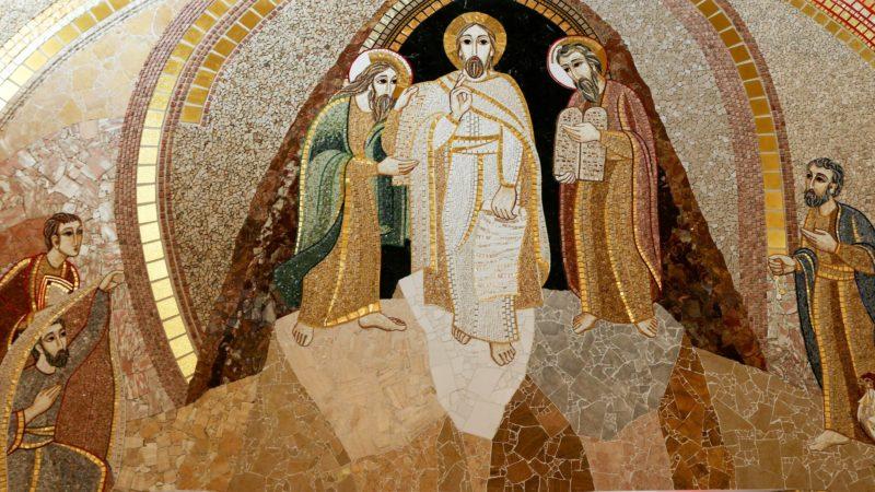 Transfiguration. Mosaïque de la chapelle du mausolée St jean Paul II, à Washington. (Photo: Flickr/LawrenceOP/CC BY-NC-ND 2.0).