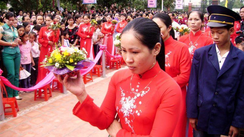 L'Eglise catholique est très active au nord du Vietnam (Photo: Jacques Berset)
