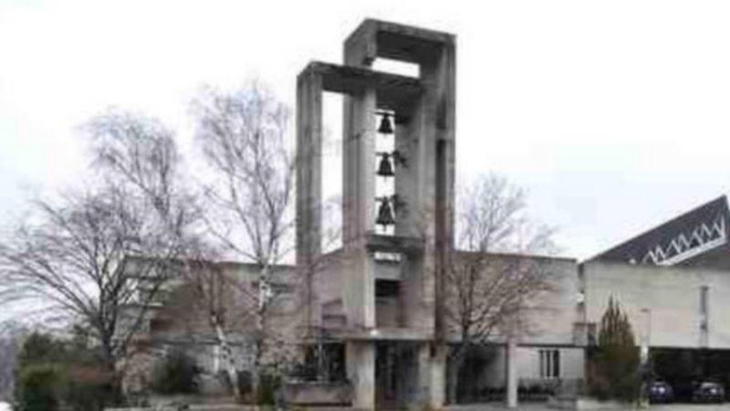 L'église catholique du Lignon, à Vernier, a été construite en 1969-1970 (photo commune de Vernier)
