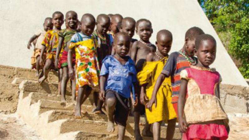 Soudan du Sud Toute une génération menacée par la guerre civile et la famine (Photo: Caritas Suisse)
