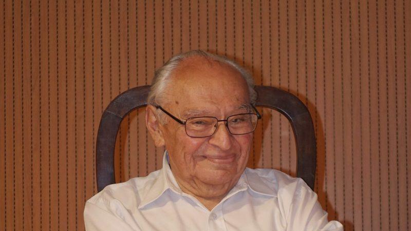 Gustavo Gutierrez est le père de la théologie de la libération (Photo:Jean-Claude Gerez)