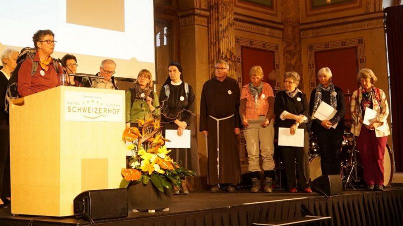 La marche 'L'Eglise avec les femmes' reçoit le prix Herbert Haag 2017 (photo Fondation Herbert Haag)