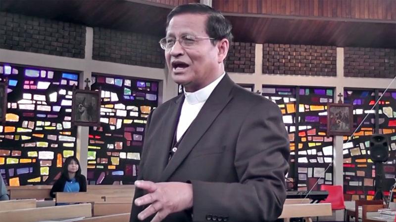 Le cardinal Charles Maung Bo est archevêque de Rangoun depuis 2003. (Capture d'écran: Youtube/Thomas Khai)