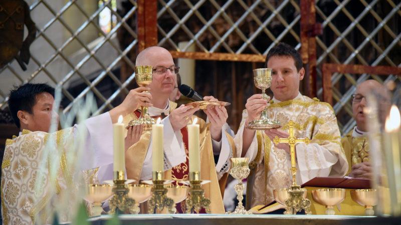 """""""Les critiques accusent la liturgie de ne pas parler avec les mots de tous les jours"""" (Photo: Pierre Pistoletti)"""