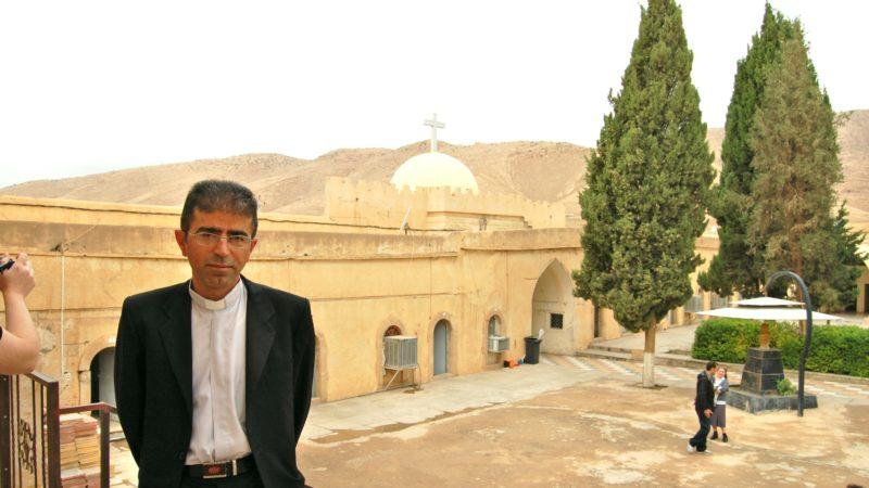 Monastère de la Vierge Marie à Al-Qosh, au nord de l'Irak (Photo: Jacques Berset)