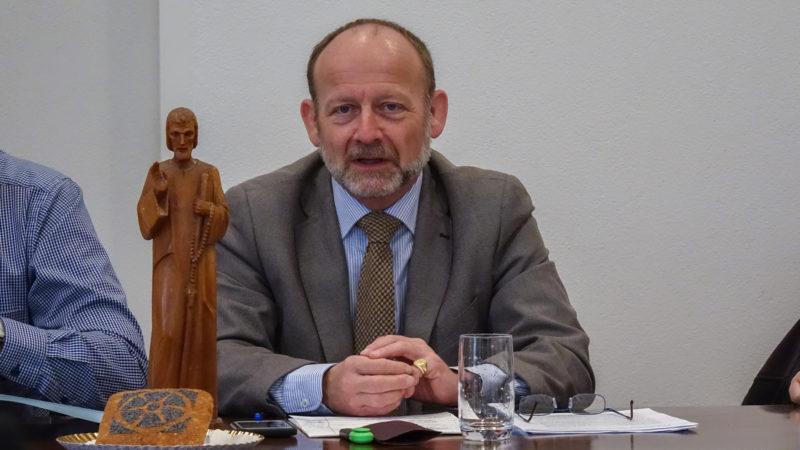 Le conseiller national fribourgeois Dominique de Buman est vice-président de l'association des amis de Frère Nicolas (photo Maurice Page)