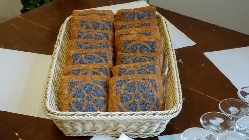 Le pain de Frère Nicolas élaboré spécialement pour le 600e anniversaire (photo Maurice Page)