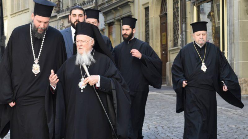 Le patriarche  œcuménique Bartholomée, ici  à Fribourg  | ©  Jacques Berset
