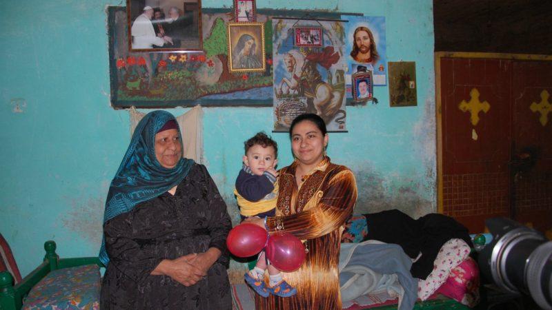 Les familles chrétiennes d'Egypte font face à la montée de l'intolérance des islamistes face aux minorités (Photo:  Jacques Berset)