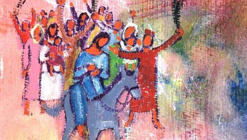 Au seuil de cette semaine sainte, de cette grande semaine pour notre vie chrétienne, fuyons cette foule anonyme.| © Evangile-et-peinture
