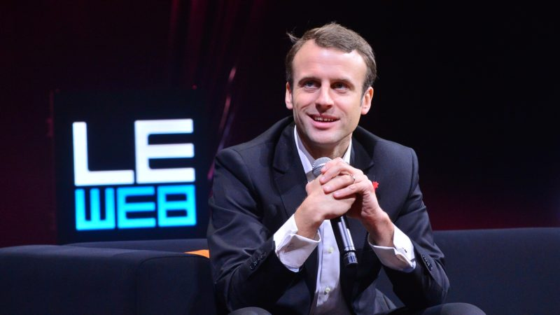 "Le président français, Emmanuel Macron élu le 7 mai 2016 (photo wikipedia OFFICIAL LEWEB PHOTOS  <a href=""https://creativecommons.org/licenses/by/2.0/legalcode"" target=""_blank"">CC BY 2.0</a>)"