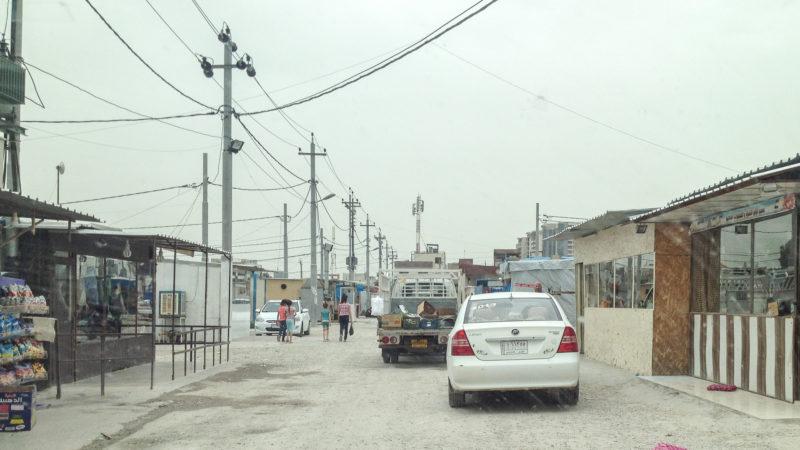 Le camp de réfugiés chrétiens d'Ankawa - Ashti 2, à Erbil, en Irak (photo Maurice Page)