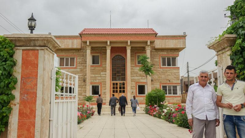 Le Babel College est installé depuis 2006 à Erbil, au Kurdistan d'Irak (photo Maurice Page)
