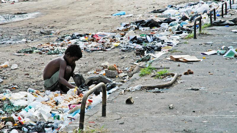 """""""la pauvreté, génératrice de faim, est assassine"""" Leonardo Boff (Photo: Jean-Claude Gerez)"""