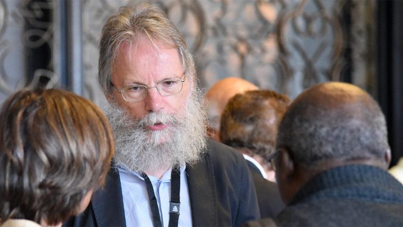 Thierry Collaud est médecin et professeur de théologie morale à l'université de Fribourg (Photo: Pierre Pistoletti)