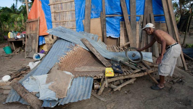 Conditions de vie infrahumaines aux Philippines (Photo: Action de Carême)