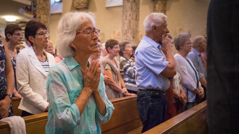 La formule «Ne nous soumets pas à la tentation» est-elle adéquate sur le plan théologique? (Photo: Pierre Pistoletti)