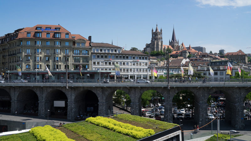 Lausanne, capitale de l'Etat de Vaud (©Pierre Pistoletti)