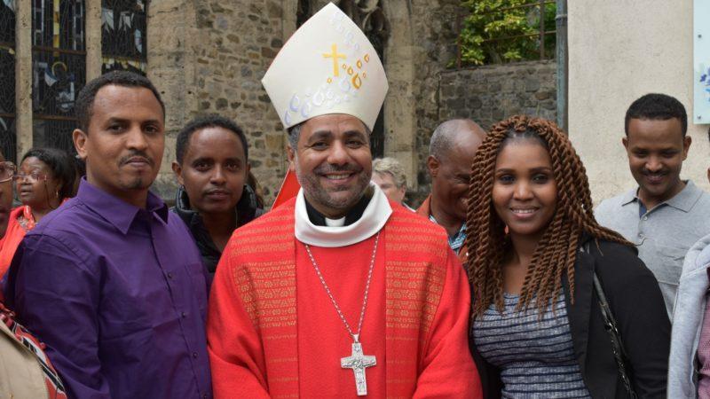 Mgr Emmanuel Ayad Bishay, évêque de Thèbes-Louxor (Photo:  Jacques Berset)
