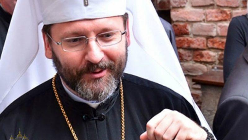 Mgr Sviatoslav Shevchuk, primat de l'Eglise gréco-catholique d'Ukraine | news.ugcc.ua