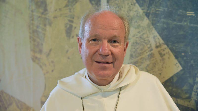 """Mgr Christoph Schönborn a participé au symposium """"Viens, Esprit Saint"""" (Photo:Raphaël Zbinden)"""