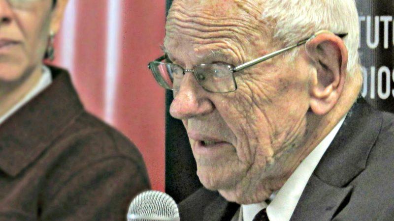 """Le chanoine François Houtart est décédé à l'âge de 92 ans (Photo: IAEN/Flickr/<a href=""""https://creativecommons.org/licenses/by-sa/2.0/legalcode"""" target=""""_blank"""">CC BY-SA 2.0</a>)"""