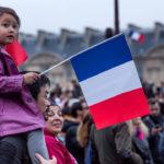 """Célébration de la victoire d'Emmanuel Macron au Louvre, 7 mai 2017 (Photo: flickr/number7cloud/<a href=""""https://creativecommons.org/licenses/by-sa/2.0/legalcode"""" target=""""_blank"""">CC BY-SA 2.0</a>)"""