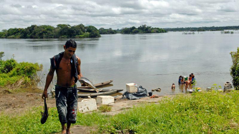 Communauté Indienne, en Amazonie péruvienne. (Photo: J.C. Gerez)