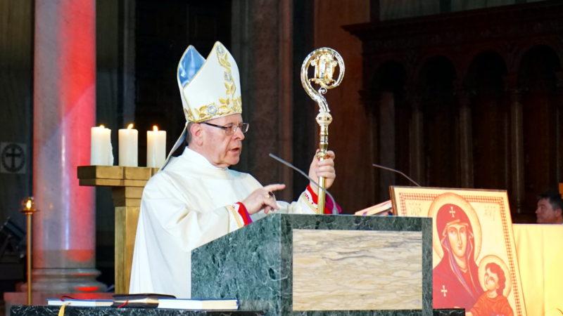 Mgr Vitus Huonder, évêque de Coire | © Georges Scherrer